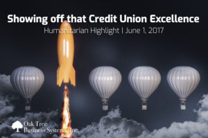 Humanitarian Highlight Showing off that Credit Union Excellence