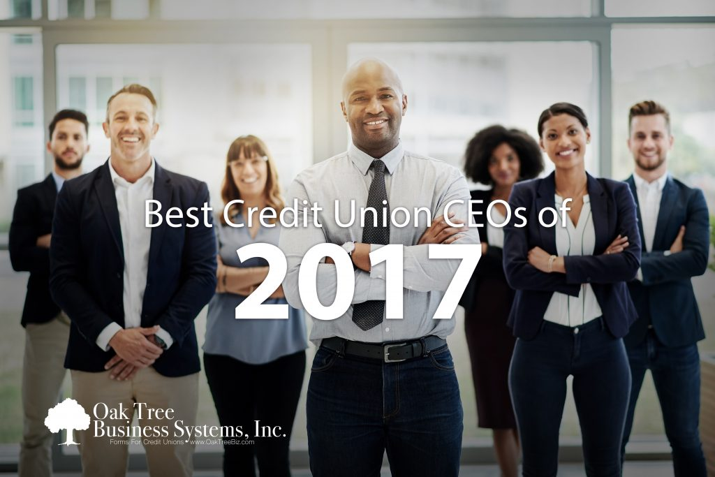 Best Credit Union CEOs of 2017