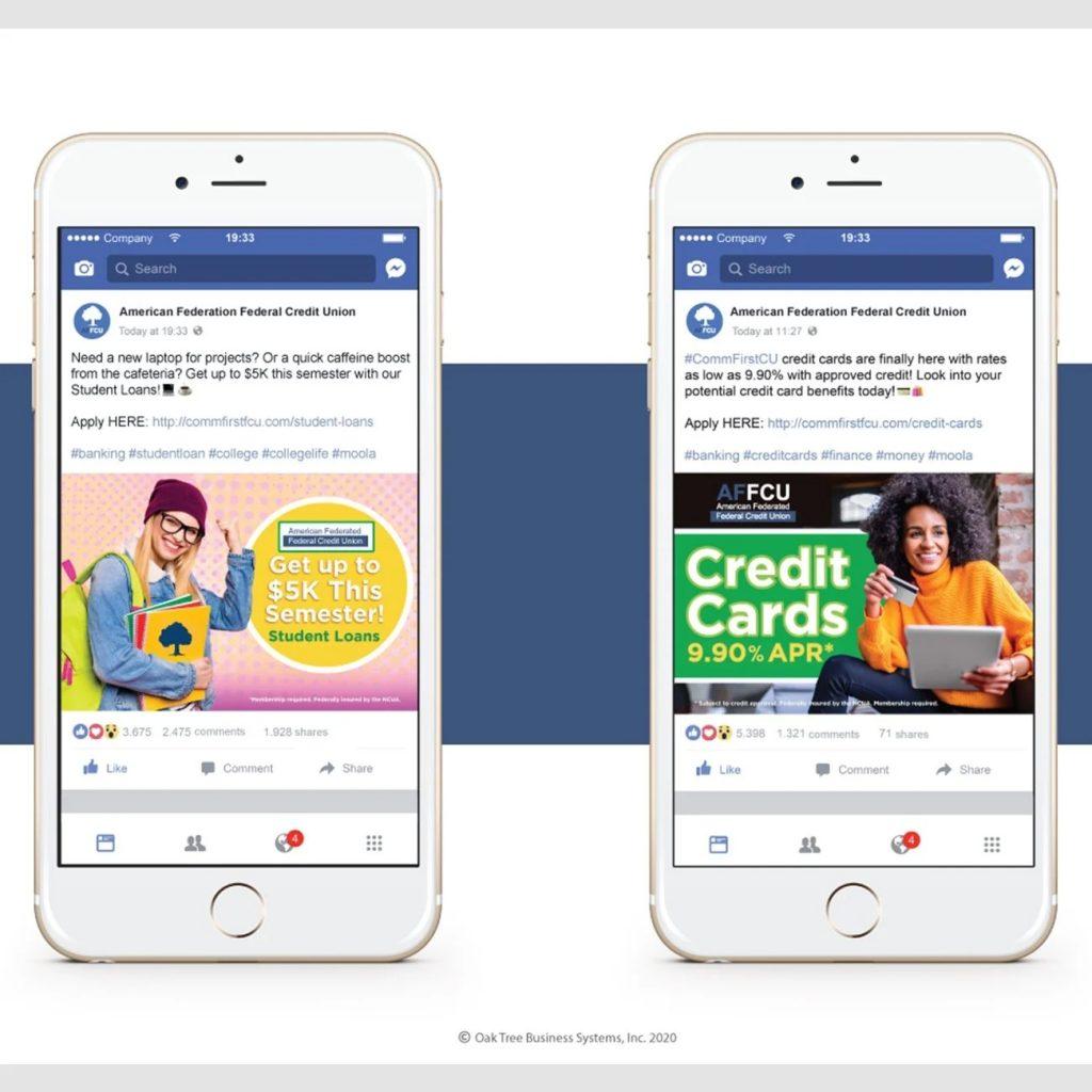 Credit Union Marketing Services Sample - Social Media