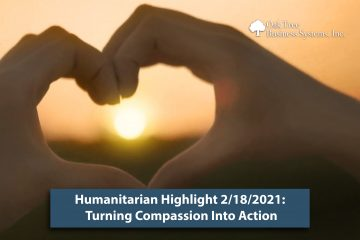 Humanitarians turning compassion into action