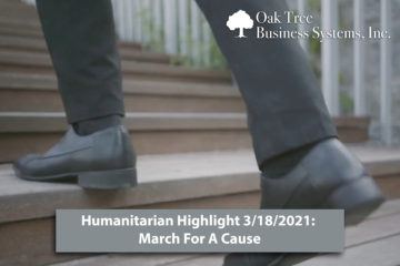 Humanitarian Highlight 3/18/21: March for a Cause