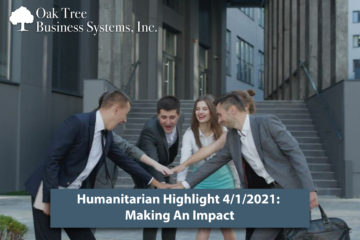 Credit Union Humanitarian Highlight 3/1/21: Making an Impact