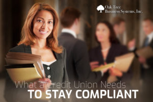 What a CU Needs to Stay Compliant