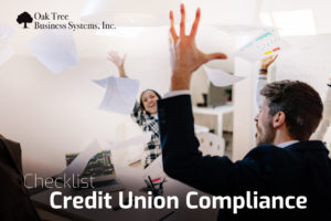 Checklist for Credit Union Compliance article