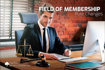 2017 Field of Membership changes for Credit Unions