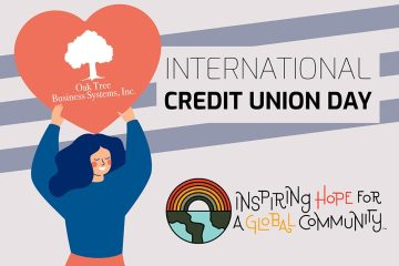 Oak Tree Business shows how some Credit Unions celebrate ICU 2020