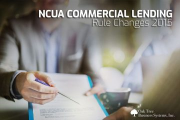 NCUA Commercial Lending Rules for Credit Unions 2015