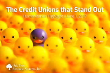 Humanitarian Highlight | The Credit Unions that Stand Out