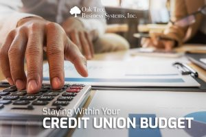 Staying Within Your Credit Union Budget