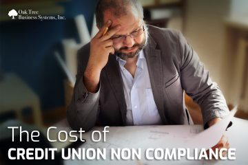 The Cost of Credit Union Non Compliance