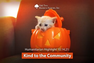 Humanitarian Highlights: 10-14-2021 Kind To The Community